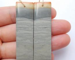 Wave Jasper Earring Pairs ,Beautiful Gemstone Earrings ,Natural Gemstone,Wh