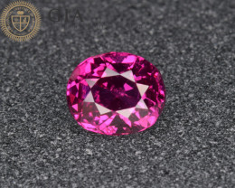 GIA certified Natural Ruby 1.47 Cts from Afghanistan