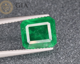 GIA Certified Natural Emerald 2.72 Cts from Pakistan