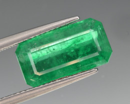 GIA Certified Natural Emerald 4.27 Cts from Pakistan