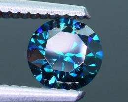 AIG Certified Electric Blue 1.01 ct SI2 Clarity Diamond SKU-10