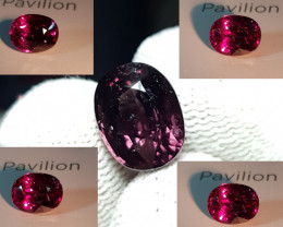 UNHEATED 5.91 CTS NATURAL STUNNING RARE 100% COLOR CHANGE GARNET