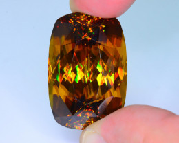 Museum Grade 104.40 ct AAA Brilliance Imperial Sphene Collector's Sku-34