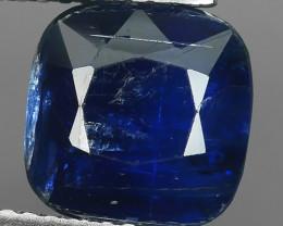 4.50~CTS~SPLENDID NATURAL CUSHION BLUE KYANITE NEPAL NR!!