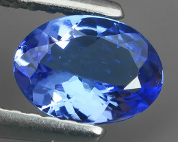 ~MIND BOGGLING NATURAL RICH FIRE TOP BLUE COLOR TANZANITE NR!!!
