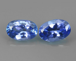 1.15 CTS EXCELLENT SPARKLING TOP RICH NATURAL  BLUE TANZANITE!!