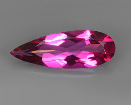 5.00 CTS WONDERFUL COLOR SWEET PINK TOPAZ PEAR CUT NR!!