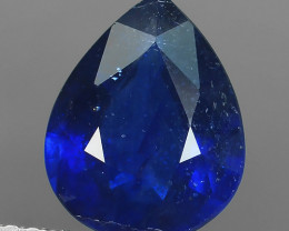 2.80 CTS DAZZLING TOP NATURAL BLUE SAPPHIRE PEAR MADAGASCAR NR!!!