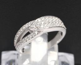 Diamond Ring 18Kt Gold F/VS Natural Diamond Ring D22