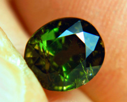 2.7 Carat Flashy, Included, Green Tourmaline - Cool