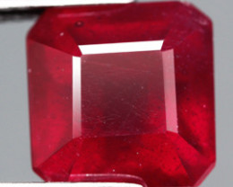 5.54 Cts. Top Quality Blood Red Natural Ruby Madagascar Gem