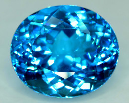 49.60 cts Electric Blue Topaz Gemstone