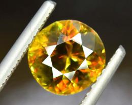 2.55 Carats AAA Grade Color Full Fire Sphene Titanite Gemstone