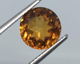 2.47 ct NICE! VVS Citrine Golden Madeira Color - Gorgeous Flash  !