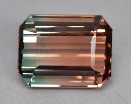 25.28 Cts Stunning Attractive Beautiful Natural Bi Colour Tourmaline