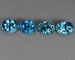20.66 Cts Fabulous Beautiful Natural Cambodian Blue Zircon