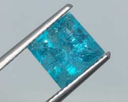 2.58 Carat Apatite Neon Paraiba Color Electrifying  Exotic  Quality !