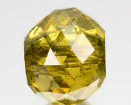 Stunning! 0.95 Cts Natural Yellow Diamond  Africa
