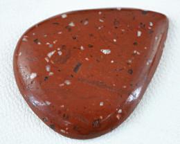 Genuine 30.50 Cts Red Mookaite Jasper Gem