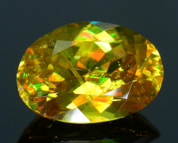 Rare AAA Fire 1.11 ct Malayaite Sphene Badakhshan Sku-36