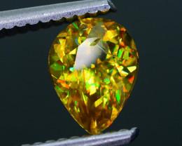 Rare AAA Fire 1.34 ct Malayaite Sphene Badakhshan Sku-36