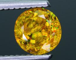 Rare AAA Fire 1.37 ct Malayaite Sphene Badakhshan Sku-36
