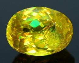Rare AAA Fire 1.57 ct Malayaite Sphene Badakhshan Sku-36