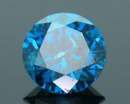 AIG Certified Amazing Blue 0.81 ct I1 Clarity Diamond SKU-10