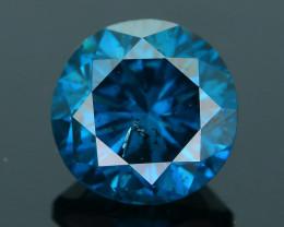 AIG Certified 1.02 ct I1 Clarity Blue  Diamond SKU-10