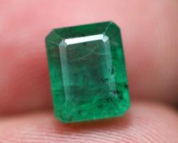 Emerald 2.97Ct Natural Vivid Green Zambian Emerald B1409