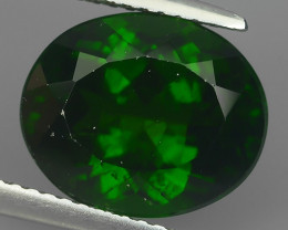6.20 Cts BEAUTIFUL RARE HUGE NATURAL CHROME DIOPSIDE RUSSIAN~