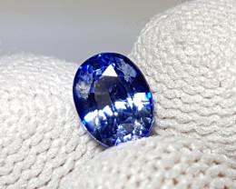CERTIFIED 1.11 CTS NATURAL BEAUTIFUL OVAL MIX BLUE SAPPHIRE SRI LANKA