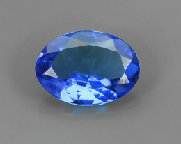 ~FINE QUALITY _ LUSTROUS - NATURAL TANZANITE - OVAL _CUT NR!!