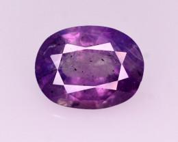 1.50 Ct Natural Pink Corundum Sapphire From Kashmir