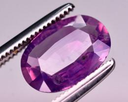 1.80 Ct Natural Pink Corundum Sapphire From Kashmir