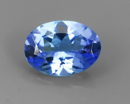 EXECLENT_OVAL CUT_MARVELOUS_NATURAL TANZANITE NR!!