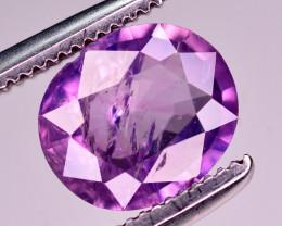 1.25 Ct Natural Pink Corundum Sapphire From Kashmir