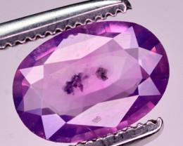 1.05 Ct Natural Pink Corundum Sapphire From Kashmir