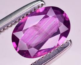 0.85 Ct Natural Pink Corundum Sapphire From Kashmir