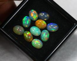 7.31ct Ethiopian Welo Opal 8 x 6 mm Lot E66