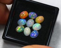 7.08ct Ethiopian Welo Opal 8 x 6 mm Lot E65
