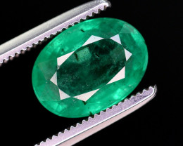Certified ~Top Quality 2.00 Ct Natural Zambian Emerald