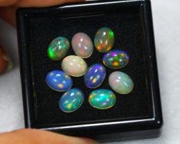 7.57ct Ethiopian Welo Opal 8 x 6 mm Lot E70