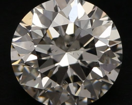 0.72 ct  Si1/H  3 x EX GIA Diamond Rapaport Price: 2 736$