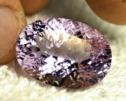 22.51 Carat Light Purple VVS Brazil Amethyst - Beautiful