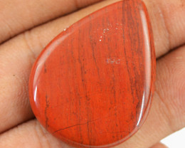 Genuine 37.80 Cts Red Jasper Pear Shape Gem