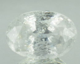 Untreated Natural 1.18Ct White Sapphire OVal Sri Lanka