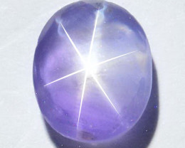 Unheated 1.74Ct Natural Purple Star Sapphire Sri Lanka
