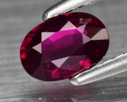 Certified Mozambique Natural Ruby - 0.61 ct