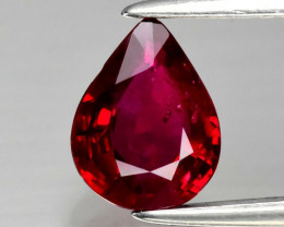 Certified Mozambique  Natural Ruby - 1.02 ct